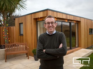 Garden Room Home Office Case Study - Eamon Twomey