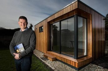 Independent Life Magazine Feature Garden Rooms and John Sherry