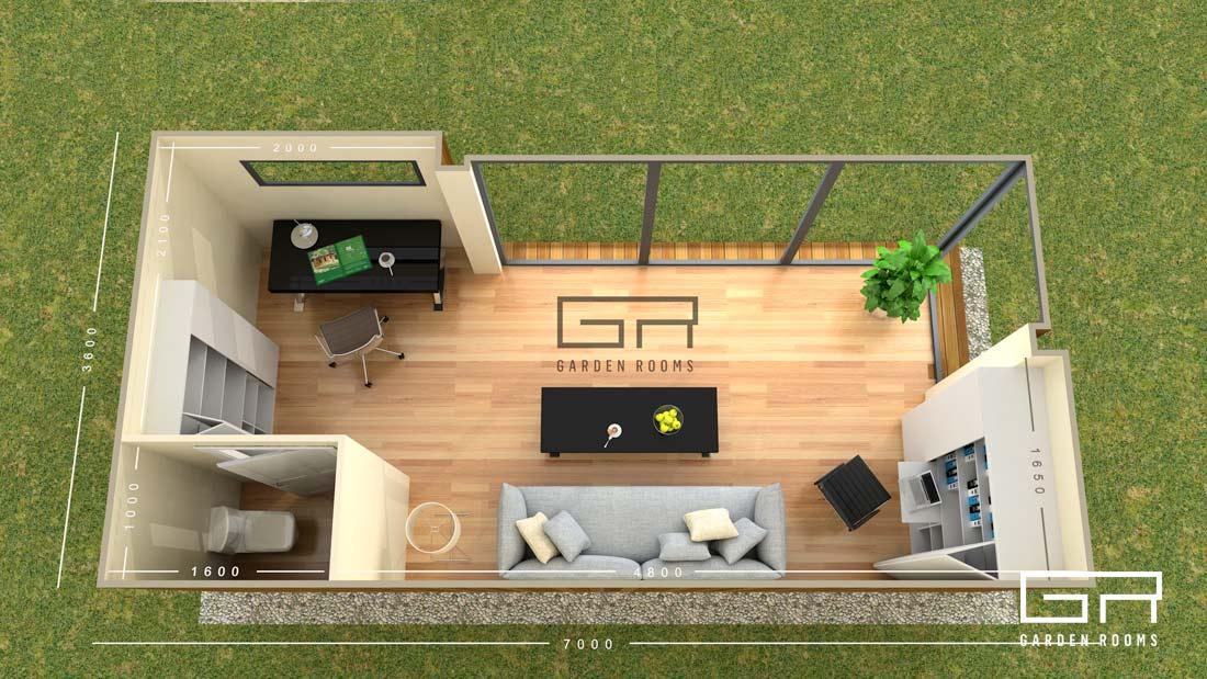 1. Cube 25 - Garden Rooms - Dublin Designs