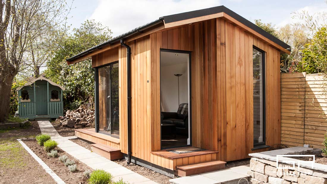 1. Cube Pitched Roof - Garden Rooms - Dublin Designs