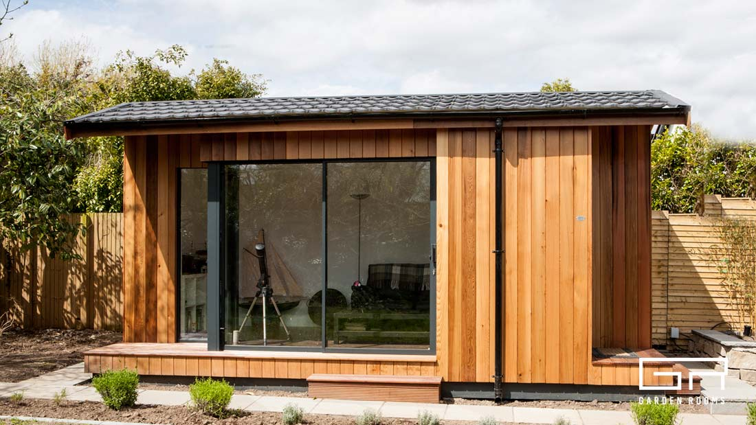 2. Cube Pitched Roof - Garden Rooms - Dublin Designs