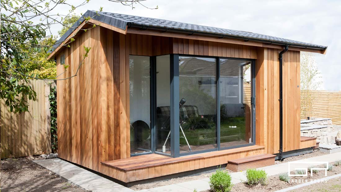 3. Cube Pitched Roof - Garden Rooms - Dublin Designs