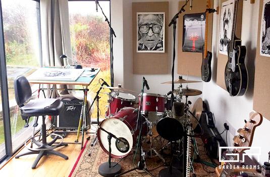 7. Music Room - Case Study - Snooks - Garden Rooms