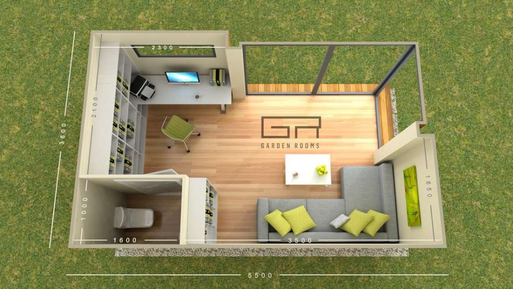Garden rooms designs cube 23 home office solutions for Garden room definition