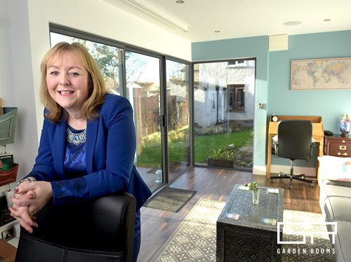 Home Office and Cinema Case Study - Niamh O'Carroll - Garden Rooms