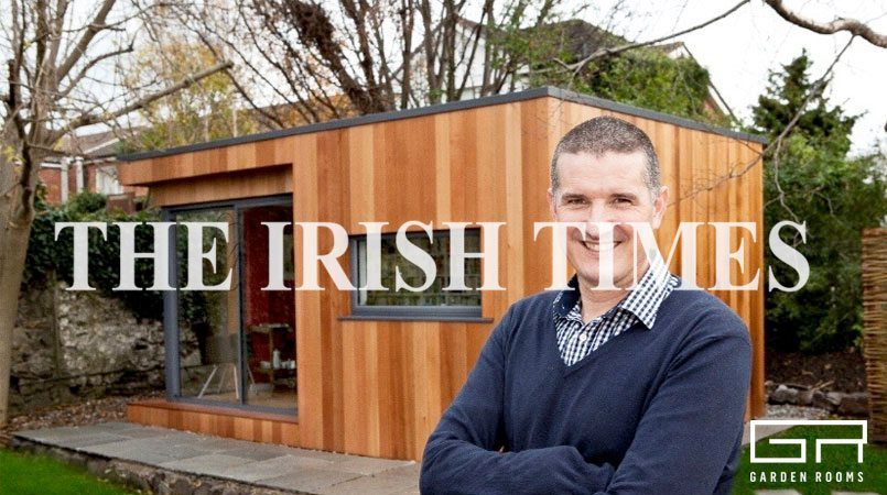 Garden Rooms Press - Irish Times - Room to think leads to brand new ideas