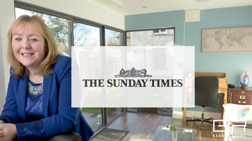 Garden Rooms Press - Sunday Times - Go to the work up the garden path
