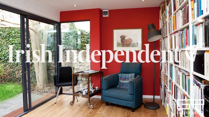 Garden Rooms in the Irish Independent