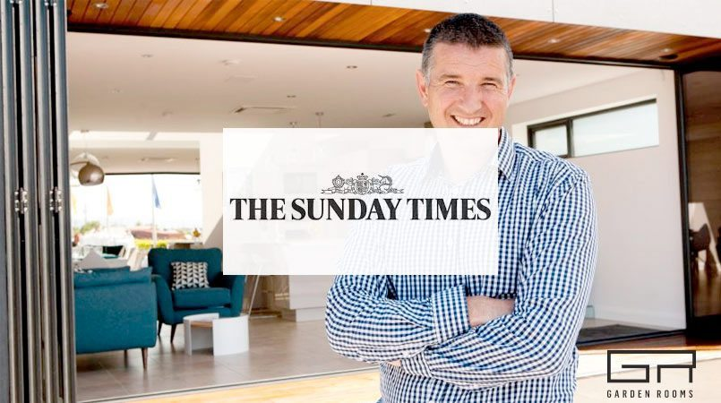 Garden Rooms in the Sunday Times