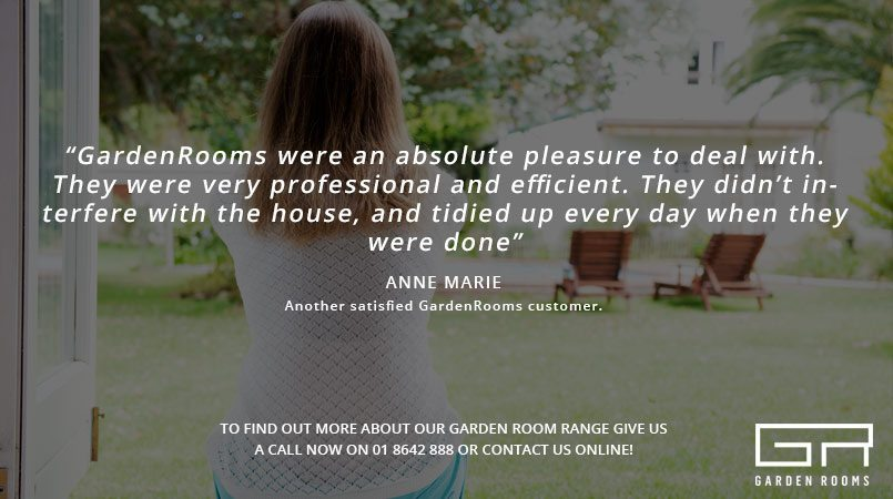 Garden Rooms Testimonial - Teen Garden Room