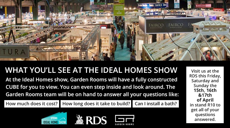 Ideal Home Show 2016 - Garden Rooms Stand