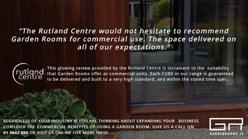 Rutland Centre Garden Room Review - Garden Rooms Dublin