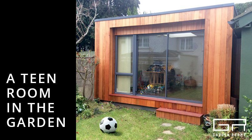 Teen Room in The Garden - Garden Rooms Ireland