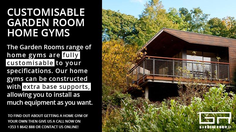 Customisable Home Gyms - Garden Rooms Dublin