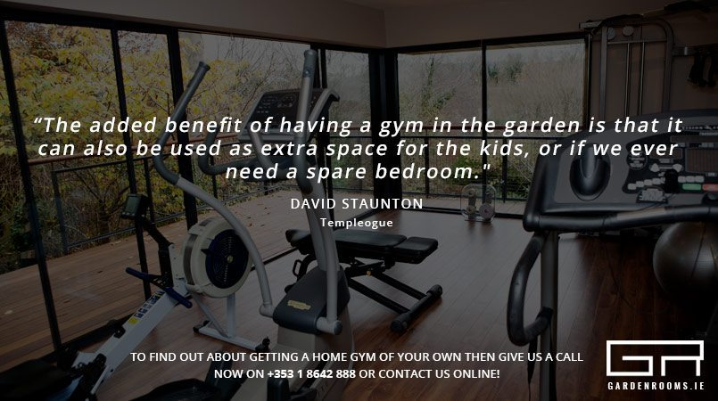 Home Gym Testimonials - Garden Room