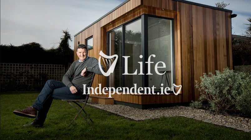 Garden Rooms Featured In Sunday Independent Life Magazine