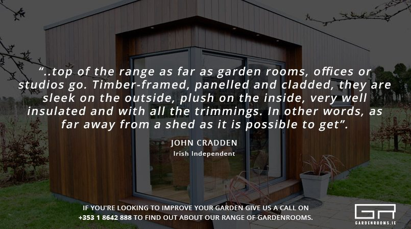 Garden Rooms Reivew - Irish Independent