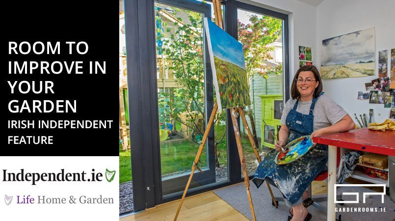 Room to improve in your garden irish independent feature for Your garden room