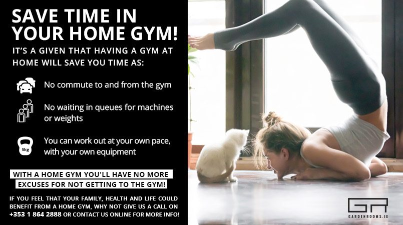 Save time in your home gym
