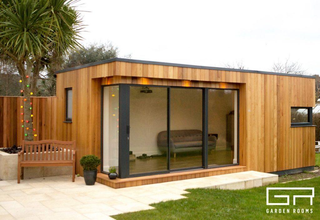 Gallery garden rooms home office suppliers dublin for Garden office cube