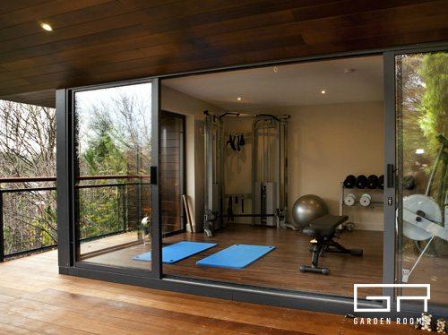 Home gym case study garden room dublin