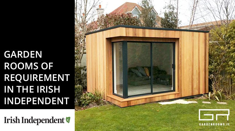Garden Rooms featured in Irish Independent