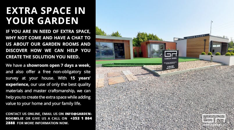Extra Space in Your Garden - Garden Rooms