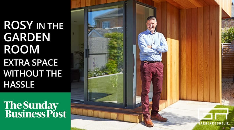 Rosy In The Garden Room - Sunday Business Post