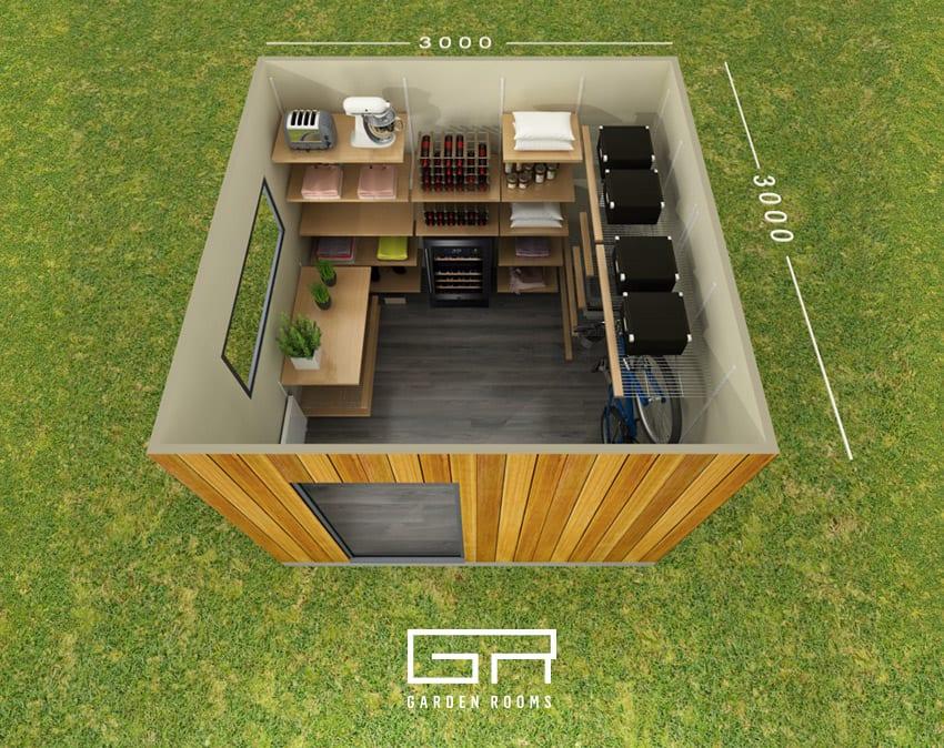 Store Haus Floor Plan - Garden Rooms Ireland