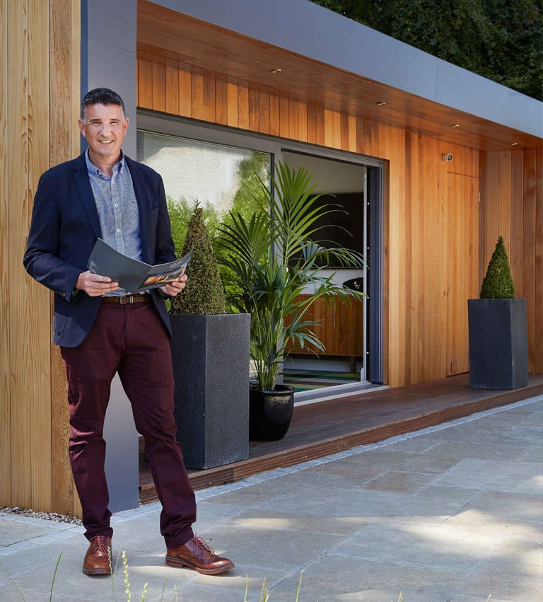 About Us - John Sherry - Garden Rooms Ireland