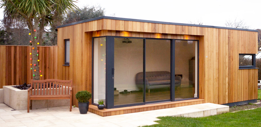 Cube Range - External Shot - Garden Rooms Ireland