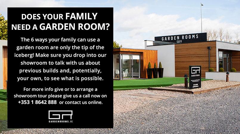 Family Garden Room Ireland