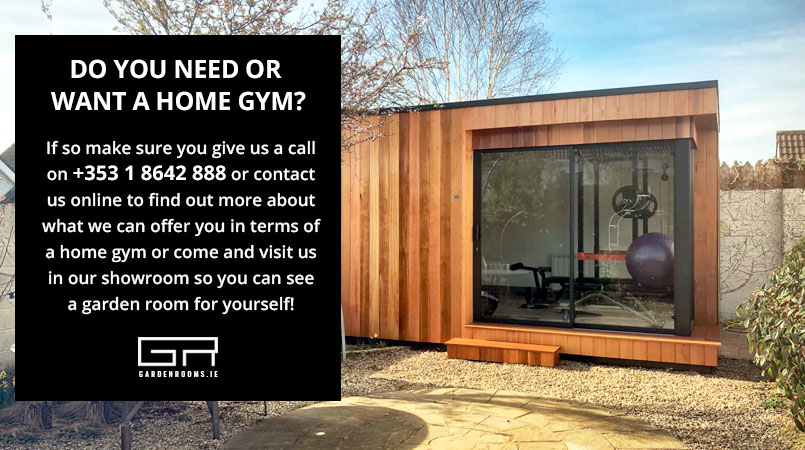 Bespoke Home Gym Design - Garden Rooms - Ireland