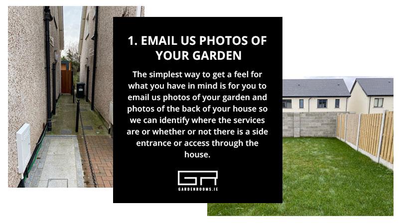 Garden Rooms - Virtual Site Survey Ireland