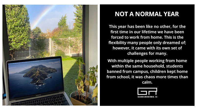 Garden Rooms - Covid Home Office Ireland