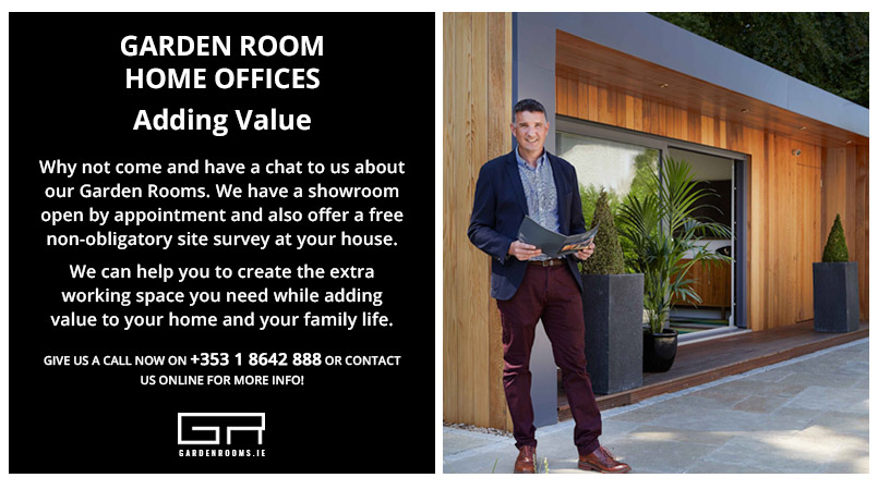 Adding Value to your home - Garden Room Office - Ireland