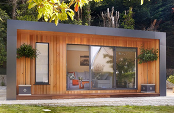 Garden Room - Irish Times - the rise of the garden home office - Feature