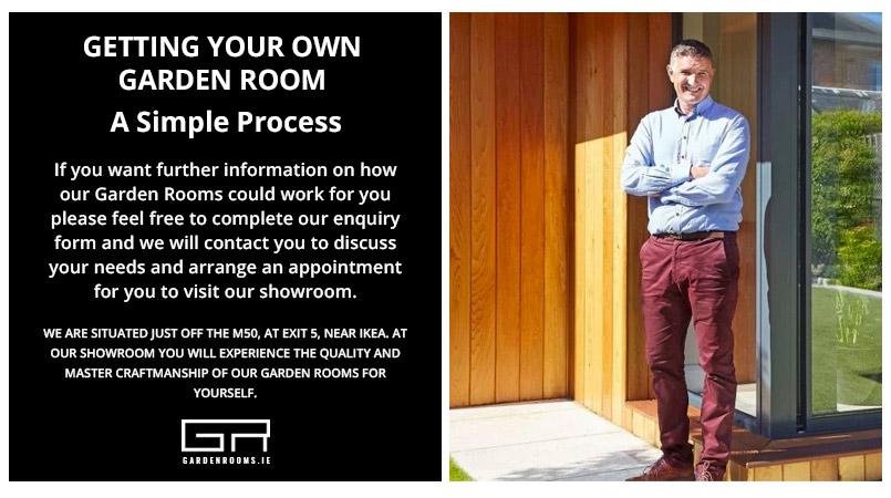 Garden Room Showroom - M50 Exit 5 - Dublin