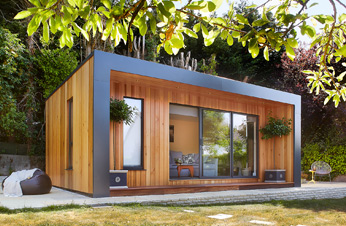Garden Rooms Press - The Times - Join the pod squad with a home office in the garden - Feature